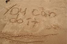 you can do it written in sand